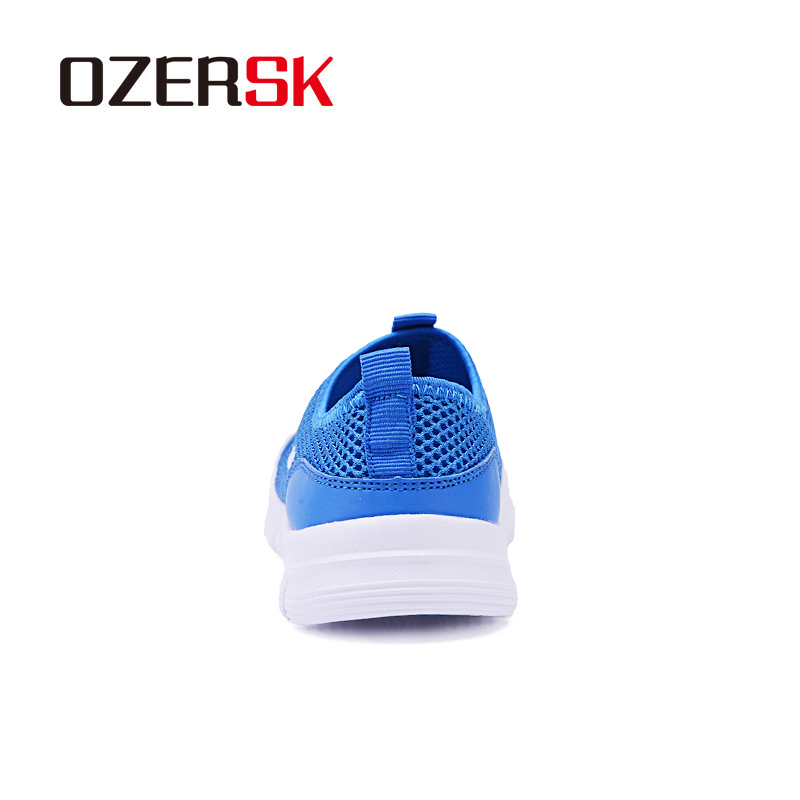 OZERSK Brand Breathable Men Running Shoes Men's Jogging Mesh Summer Mesh Sneaker Casual Slip-on Sandals Shoes Free Shipping 3
