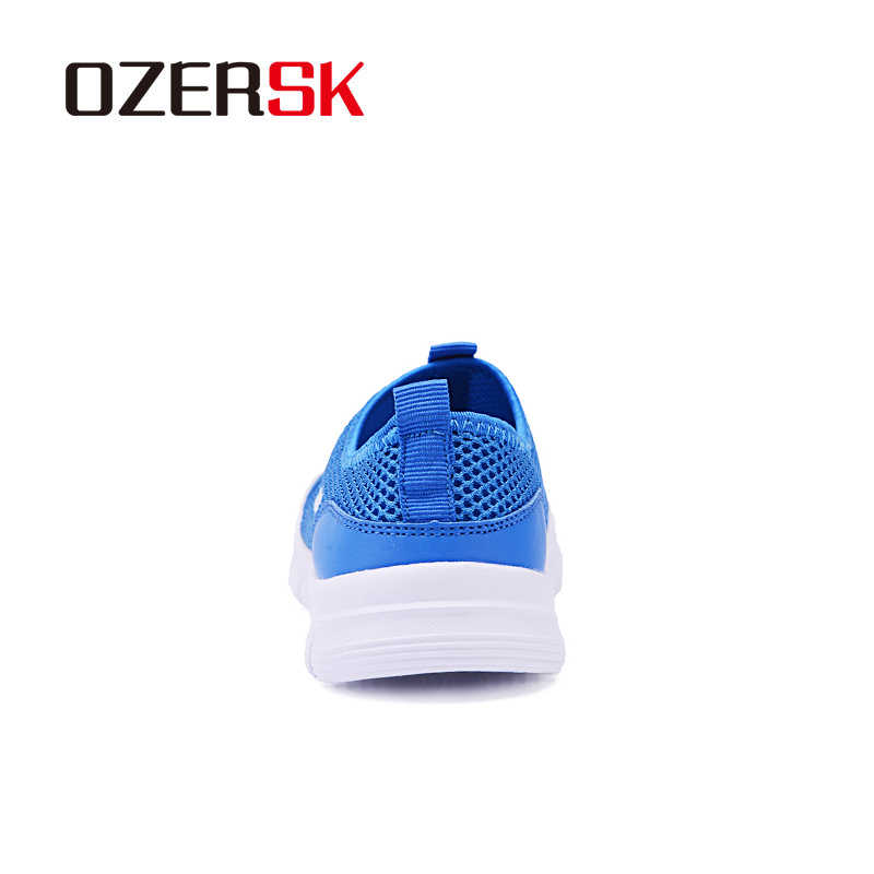Ozersk Thương Hiệu Thoáng Khí Nam Chạy Bộ Nam Chạy Bộ Lưới Lưới Mùa Hè Giày Sneaker Cổ Trơn Dép Giày Giá Rẻ vận Chuyển