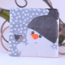 NEW 20pcs Lovely Snowman pattern Napkin 100% Virgin Wood Tissue for Party Decoration Paper placemat 20pcs new 100