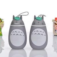 1PC Water cup cute Totoro cartoon Vacuum Flasks Mug Stainless steel Thermocup Water Bottle Kids Gift cup Vacuum smile surprise