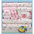 Хлопок девушка новорожденный одежда младенцы мальчик комплект одежды младенца костюм шляпа подушка детская одежда девушка babykleding meisje