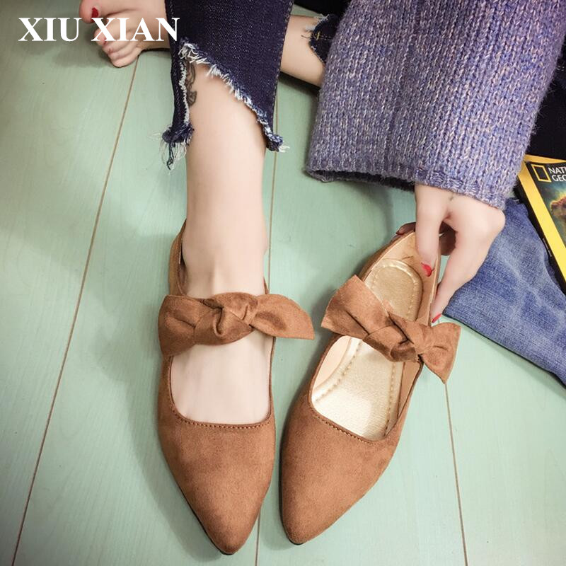 2017 Spring Summer Black Pointed Toe Flats Shoes Women Soft Low Heel Sandals Women Hollow Out Shoes Butterfly Ladies Flat Slipon spring summer women leather flat shoes 2017 sweet bowtie flats women shoes pointed toe slip on ladies shoes low heel shoes pink