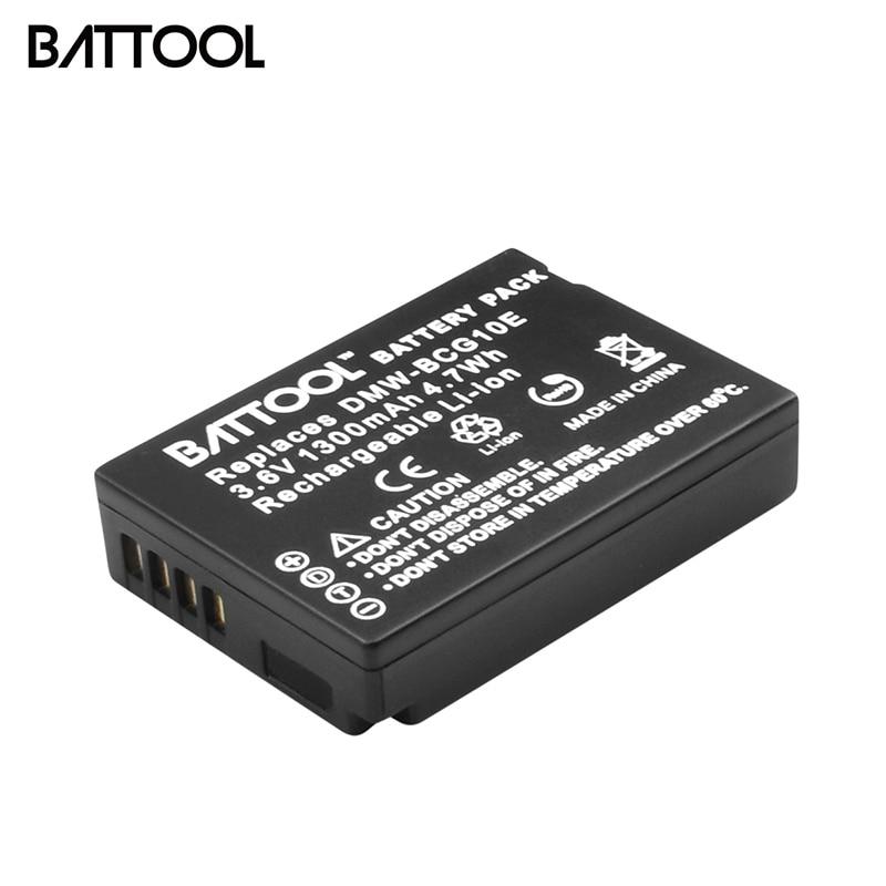 BATTOOL 1* Camera Battery For Panasonic Lumix DMW-BCG10 DMW BCG10 BCG10E DMC-3D1 DMC-TZ7 DMC-TZ8 DMC-TZ10 DMC-TZ18 DMCTZ19