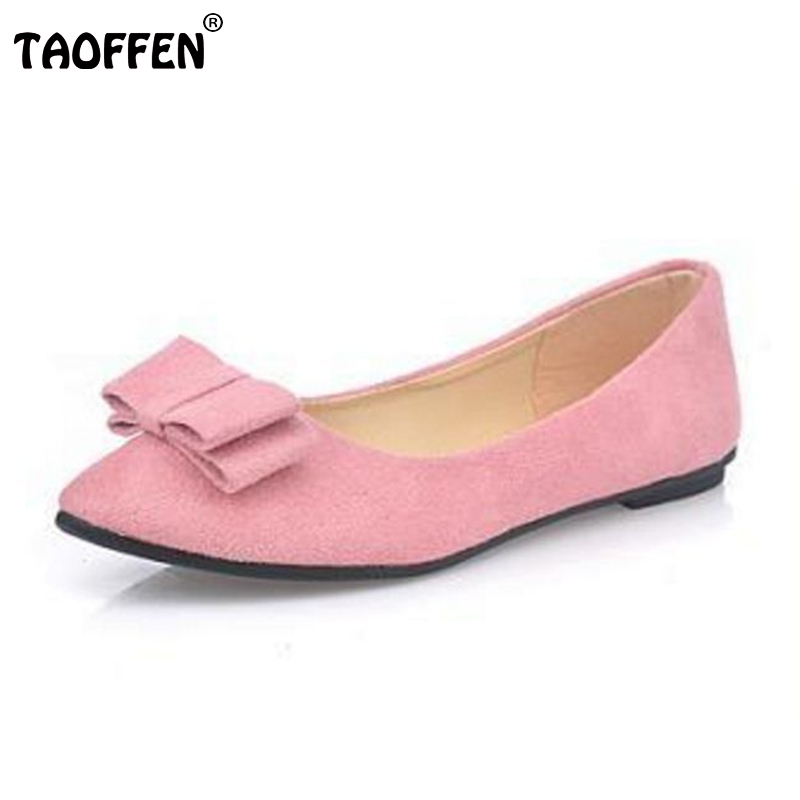 New Arrived Vintage Bowknot Women Single Shoes Pointed Toe Ballet Flats Flat Fashion Slip On Shoes Woman Footwear Size 35-39 new listing pointed toe women flats high quality soft leather ladies fashion fashionable comfortable bowknot flat shoes woman