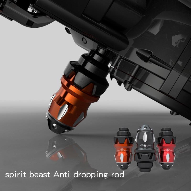 SPIRIT BEAST Motorcykel tillbehör faller motorcykel anti brottning gummi säkerhetsskydd till skydd fri frakt