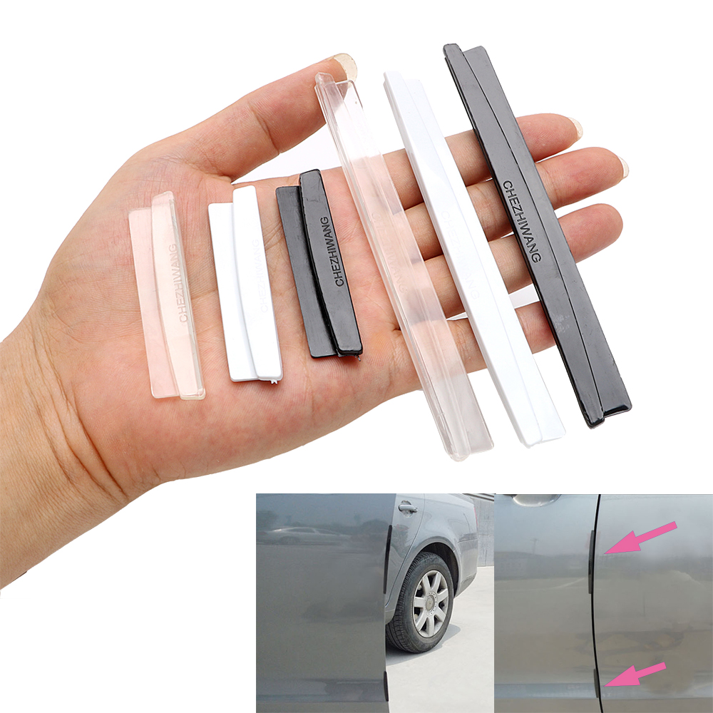Door Edge Guards Car-styling Styling Mouldings Car Door Protection Strip Universal Auto Replacement Car Door Protector(China)