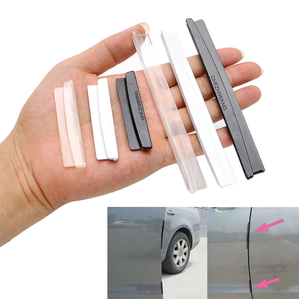 8 Stuks Auto Deur Edge Guards Trim Protection Strip Scratch Protector Crash Barrière Auto Vervangende Auto-Styling Mouldings