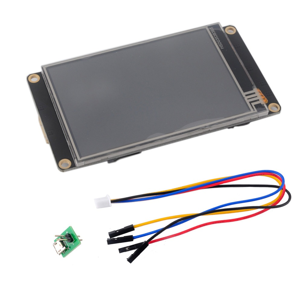 3.5 Inch Nextion Display Enhanced USART HMI Touch Display Resistive LCD Module Screen Panel For Arduino Raspberry Pi NX4832K035