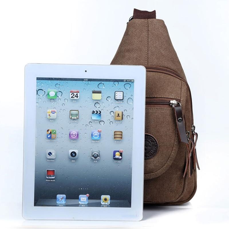 Nova torba za remen Platno grudi za muškarce Muške vrećice za - Torbe - Foto 4