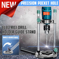 Makita Power Tools Adjustable Angle Drill Holder Guide Stand Positioning Bracket for Electric Drill dremel accessories 2019 Hot