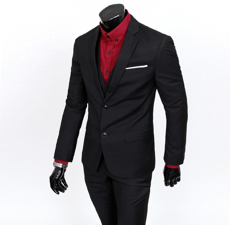2018 ny ankomst terno masculino Business casual kostymer män - Herrkläder - Foto 4