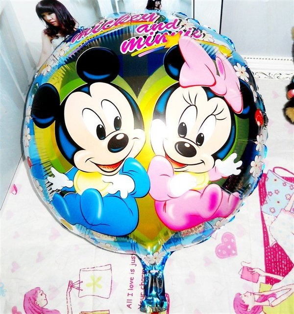 20pcs/lots wholesales 18inch  cartoon balloons ,  wedding decro  Free shipping
