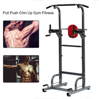 Heavy Duty Dip Station Power Tower Pull Push Chin Up Bar Home Gym Fitness Core For Light Institutional Indoor Equipment