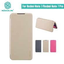 Redmi Note 7 case cover NILLKIN case for xiaomi redmi note 7 pro case cover 6.3 Sparkle flip cover redmi note 7s case
