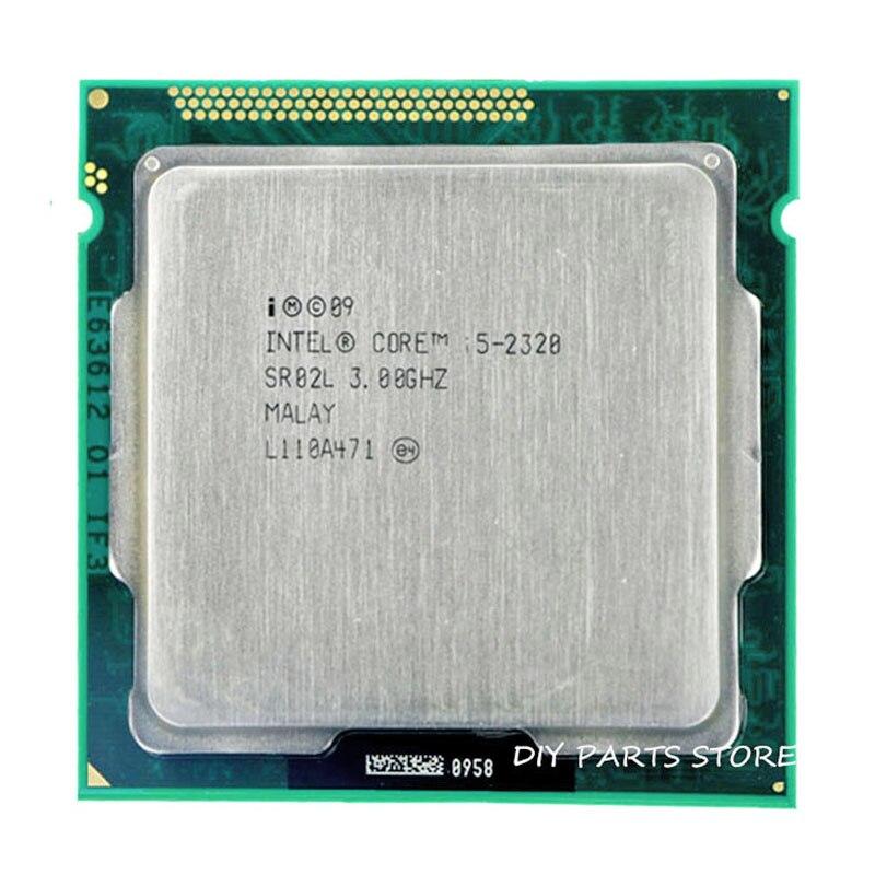 Intel Core i5 2320 i5-2320 3.0 GHz/6 mo Socket LGA 1155 processeur d'unité centrale HD 2000 mémoire prise en charge: DDR3-1066, DDR3-1333