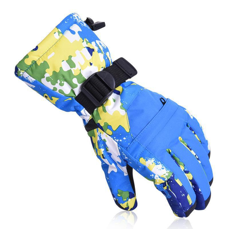 Skiing And Snowboarding Men Women Professional Super Warm Waterproof Motorcycle Gloves Camping Snowmobile Winter Gloves
