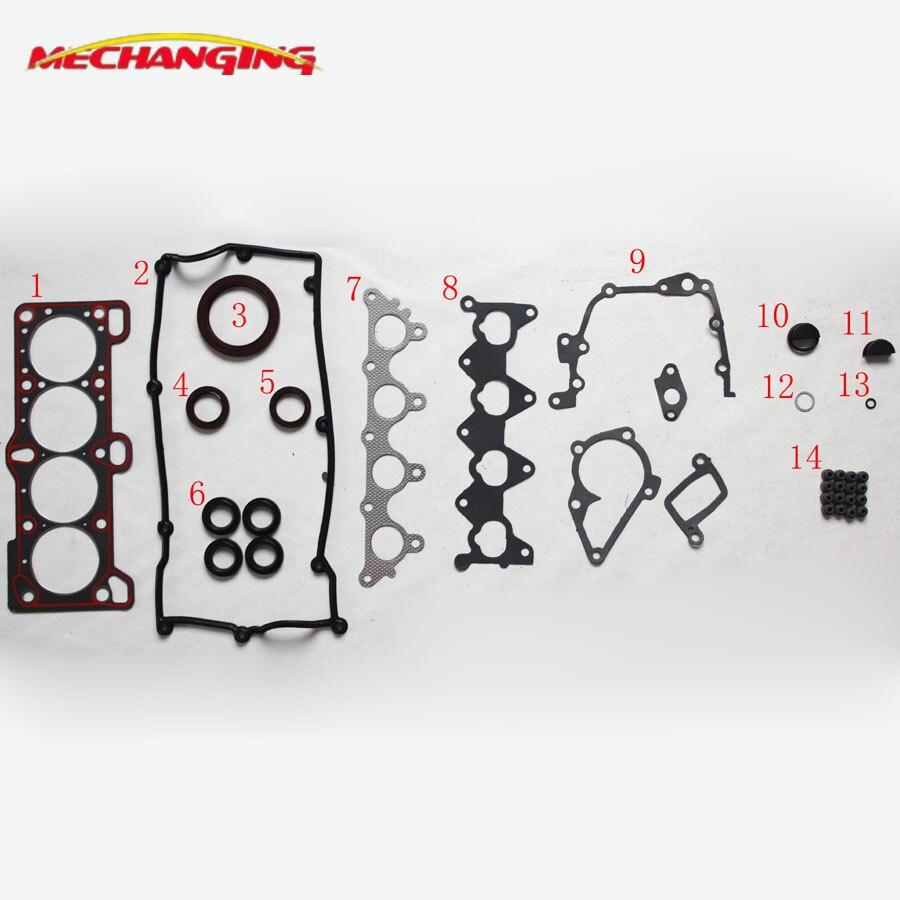 G4ED-G G4ED PER HYUNDAI COUPE (RD) (GK) 1.6 i Parti Del Motore del motore guarnizione di tenuta set Set Completo Guarnizioni Motore 20910-26D00 50230500