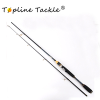 Topline TackleCarbon Spinning Fishing Rod M Power Hand Fishing Tackle Lure Rod Travel Casting Rod Canne Spinnng