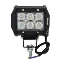 1pcs led 4 inch 18w work light as Worklight/Flood Light/Spot Light for Boating/Hunting/ Fishing bar