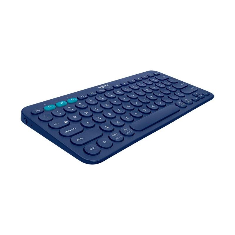 US $56 14 20% OFF|Logitech K380 Bluetooth Keybord Original tastiera Multi  device Light clavier Mini Wireless Keyboard for Phone Pad PC teclado-in