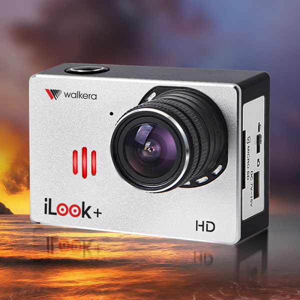 (CE Version) d'origine Walkera iLook + HD 1080 P 60FPS Large-angle Caméra Haute-définition Sport Caméra avec WIFI [Vente spéciale]