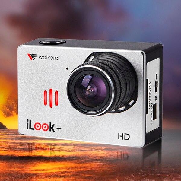 (Versione CE) originale Walkera iLook + HD 1080 P 60FPS Fotocamera grandangolare ad Alta definizione Macchina Fotografica di Sport con WIFI [Vendita speciale]