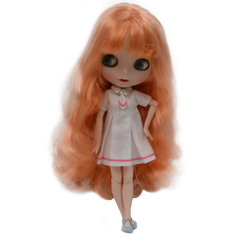Blyth Doll BJD, Neo Blyth Doll Nude Customized Frosted Face Dolls Can Changed Makeup and Dress DIY, 1/6 Ball Jointed Dolls SO21 цены онлайн