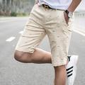 2016 homens shorts no verão de cultivar a moralidade lazer calções impressos