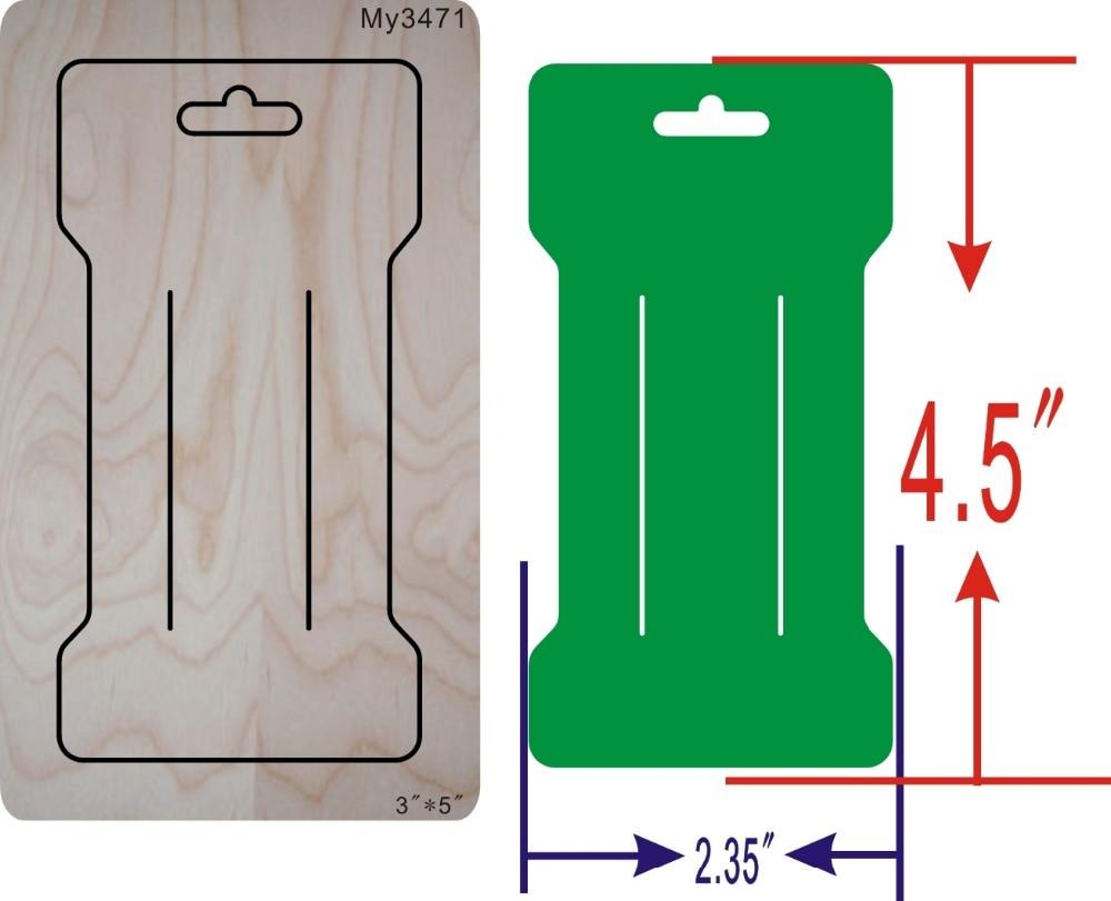 Muyu de emissão de cartão de cartão de madeira die Thickness-15.8mm -- new mould matrizes de corte de madeira para scrapbooking