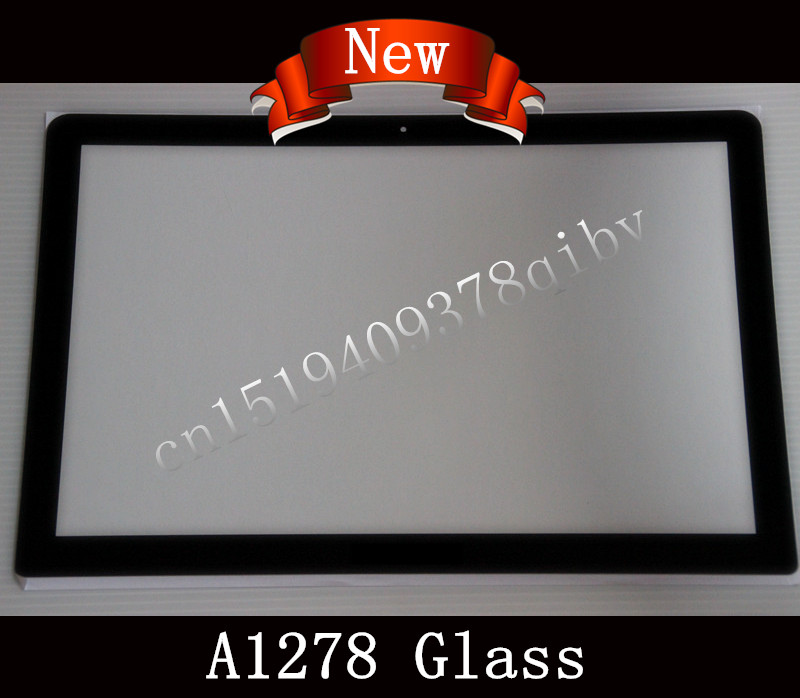 цена на New Matrix LCD LED Screen Glass For Macbook Pro 13 15 17 Unibody A1278 A1286 A1297 Screen Glass Lens 2009 2010 2011 2012