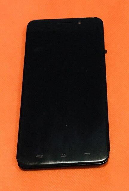 Antigo original display lcd + digitador da tela de toque moldura para ulefone metal 5 polegada hd mtk6753 octa núcleo frete grátis