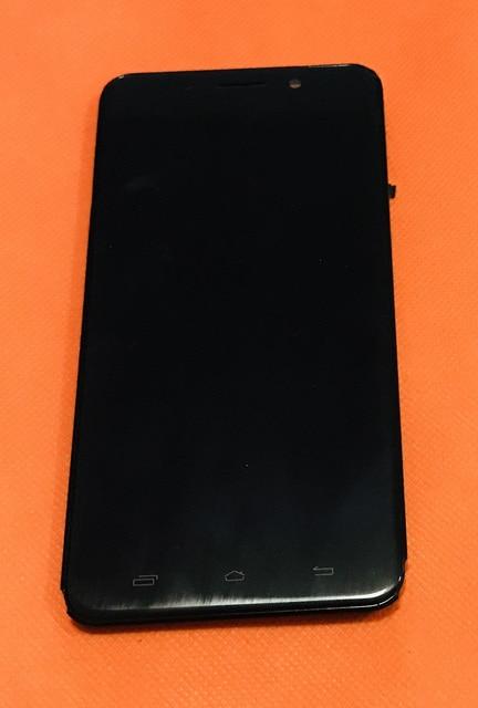 ישן מקורי LCD תצוגה + מגע Digitizer מסך + מסגרת עבור Ulefone מתכת 5 אינץ HD MTK6753 אוקטה Core משלוח חינם