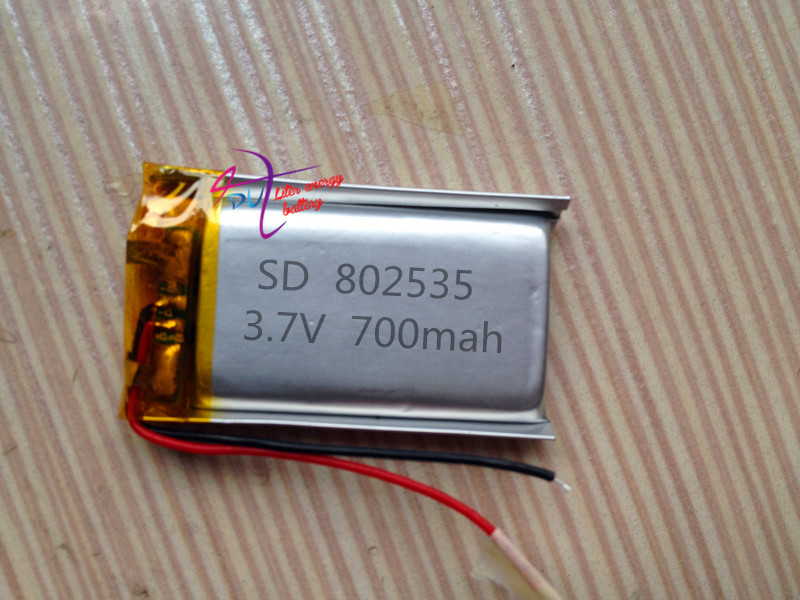 Polymer 802535 082535 Bluetooth audio emergency light mobile DVD lithium battery factory direct sales