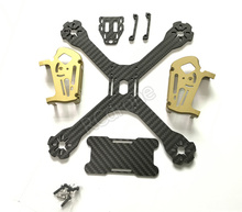 4mm Carbon Fiber FPV Quadcopter Drone Frame with 7075 Metal Head Apply 20mm, 30mm, flight control