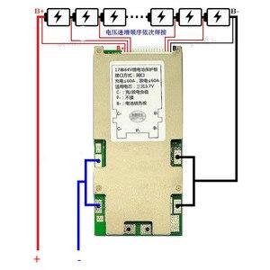 Image 2 - 17S 64 فولت 16S 60 فولت 13S 48 فولت 7S 24 فولت بطارية ليثيوم لوح حماية ليثيوم أيون يبو 18650 حزم BMS PCM مشترك نفس المنفذ 30A 50A eBike