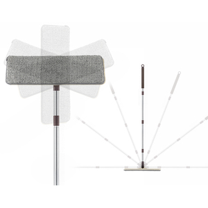 Image 5 - שטוח לסחוט סמרטוט דלי יד קל לסחיטה רצפת ניקוי לנגב מיקרופייבר Mop רטוב או יבש שימוש על עץ רבד אריח