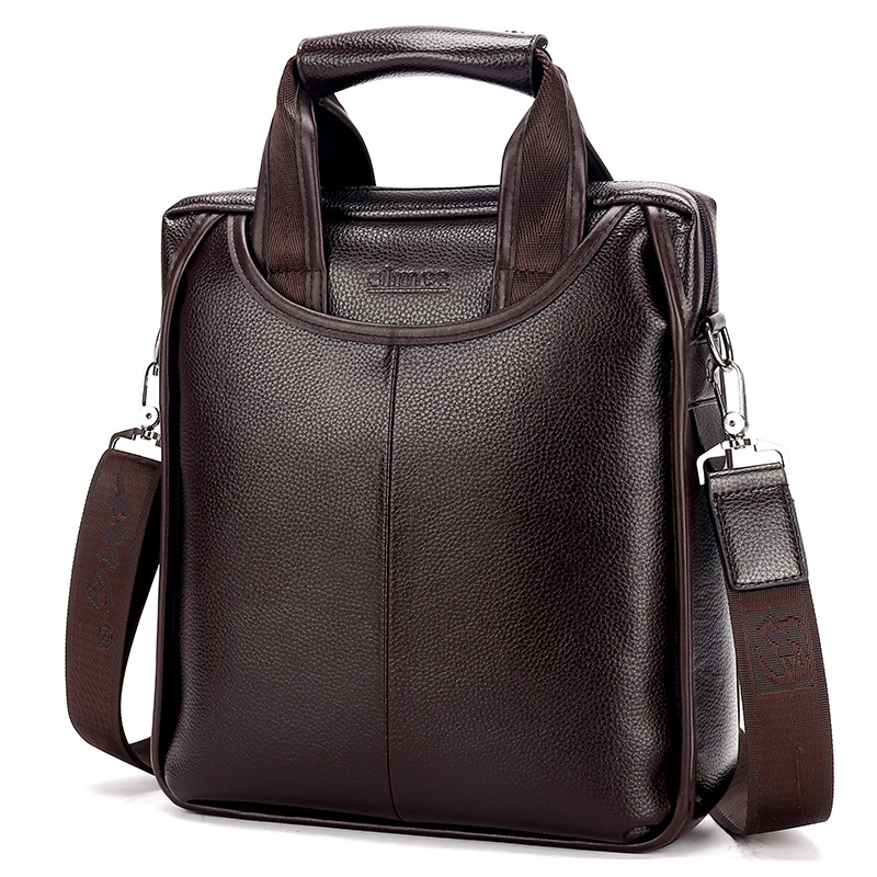 Brand PU Leather Men Business Bags Fashion Male Messenger Bags Mens Small Briefcase Man Casual Crossbody Shoulder Handbag