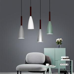 E27 Bar Pendant Lights Cafe Restaurant Decor Hanging Lamp Lighting Pendant Lamp Luminaire(China)