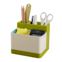 Student multifunctional creative pen holder Office personal stylish stationery storage box Korea style cute pencil case цена 2017