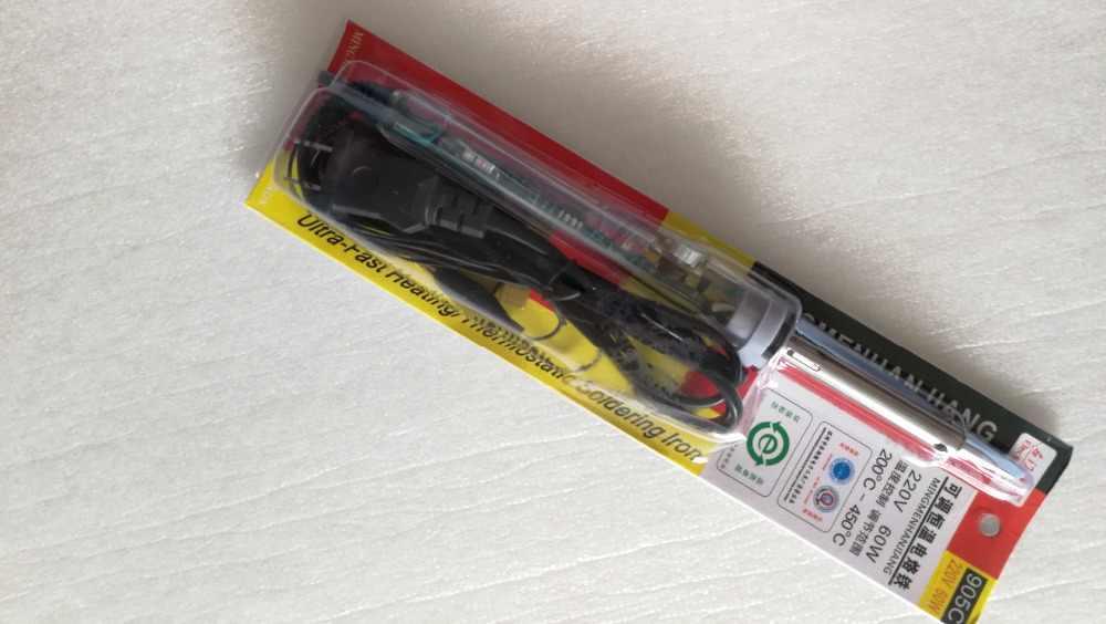 220 فولت 60 واط قابل للتعديل درجة حرارة ثابتة الكهربائية لحام الحديد العمل للهاتف لوحة و LCD TV شاشة تبويب الساخن الصحافة