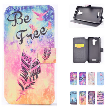 Printing Pattern PU Leather Cases For ASUS ZC520TL Case Luxury Retro Flip Leather  Phone Bag For ASUS ZC520TL Covers Fundas Capa