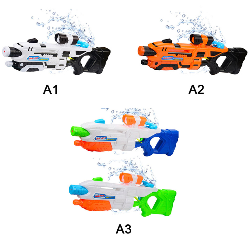 Children High-Pressure Water Gun Soakers Toys Large Capacity Long Range Blasters Child Squirt Beach Toys Spray Pistol Beach Toys