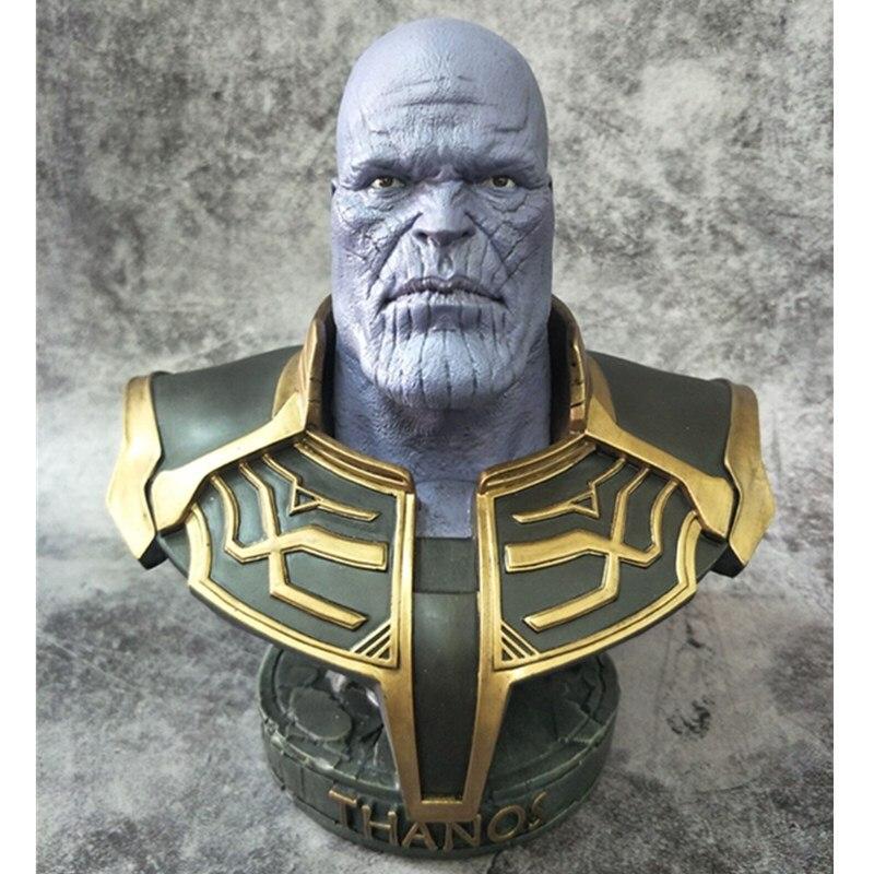 Avengers: Infinity War-Parte II Spider-Man Thanos 1/4 Statua Busto Resina Endgame Da Collezione Decorazione R1027Avengers: Infinity War-Parte II Spider-Man Thanos 1/4 Statua Busto Resina Endgame Da Collezione Decorazione R1027