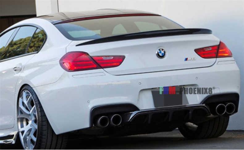 Alerón de fibra de carbono para BMW Serie 6 F06 Gran Coupe M6 640i 650i 2011-2020 alerones traseros de alta calidad