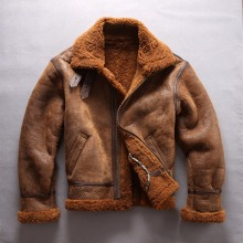 di shearling genuino B3