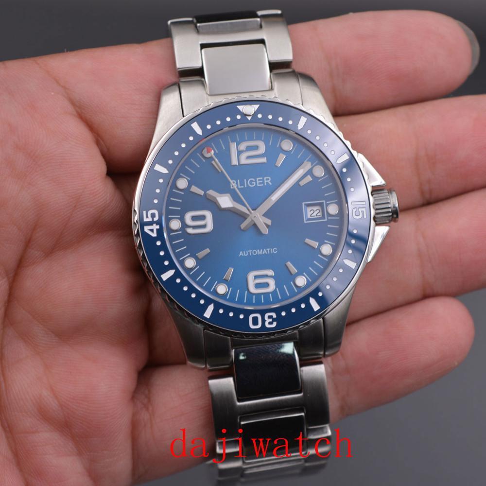Corgeut 2019 Men Watches Top Brand Luxury BLIGER Military Analog Automatic Watch Men\'s Sport Wristwatch Relogio Masculino