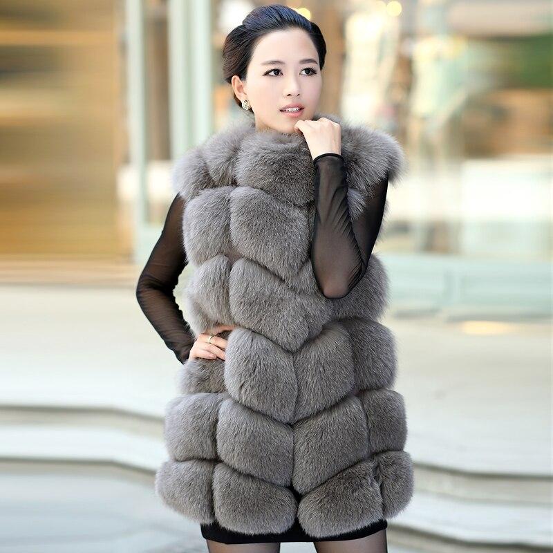 Fur As Luxe Survêtement Pictures Femmes Veste Vest Femme Fox Vk1008 Gilet De Fourrure Dames topfurmall Pictures Véritable Manteau Silver Hiver as gYTOq5