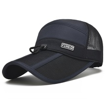 2017 Quick Dry Unisex baseball caps motorcycle cap golf hat men women Long visor casual summer hat
