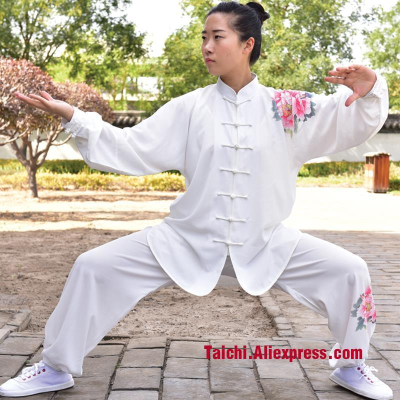 sports new tai chi suit high-end printing female tai chi uniforms  Kungfu Clothing Wushu-clothing female wushu tai chi clothing embroidery clothes graded taijiquan embroidered costumes spring kungfu clothing