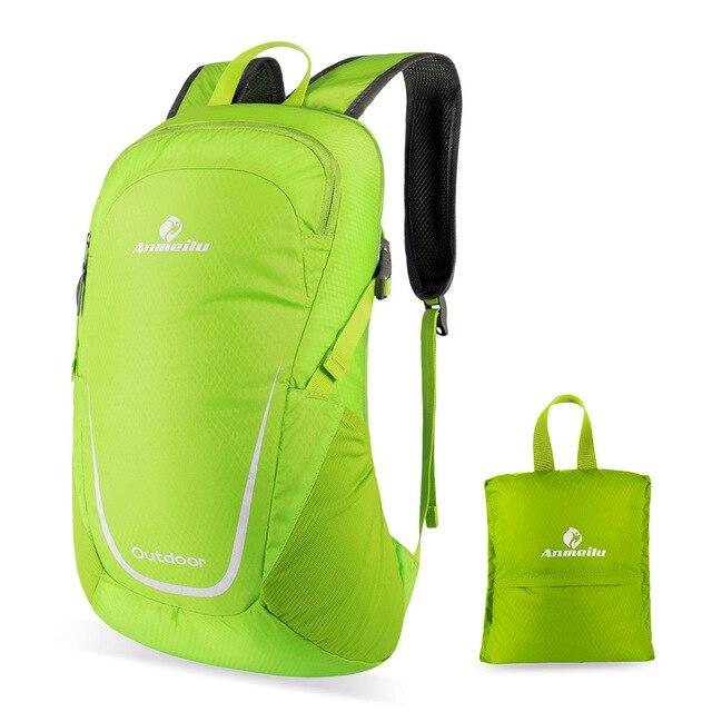 Baru Ringan Luar Ruangan Perjalanan Tas Siswa 15L Packable Ransel Anti-Air  Lipat Kemah Daki 00c7ea2a37
